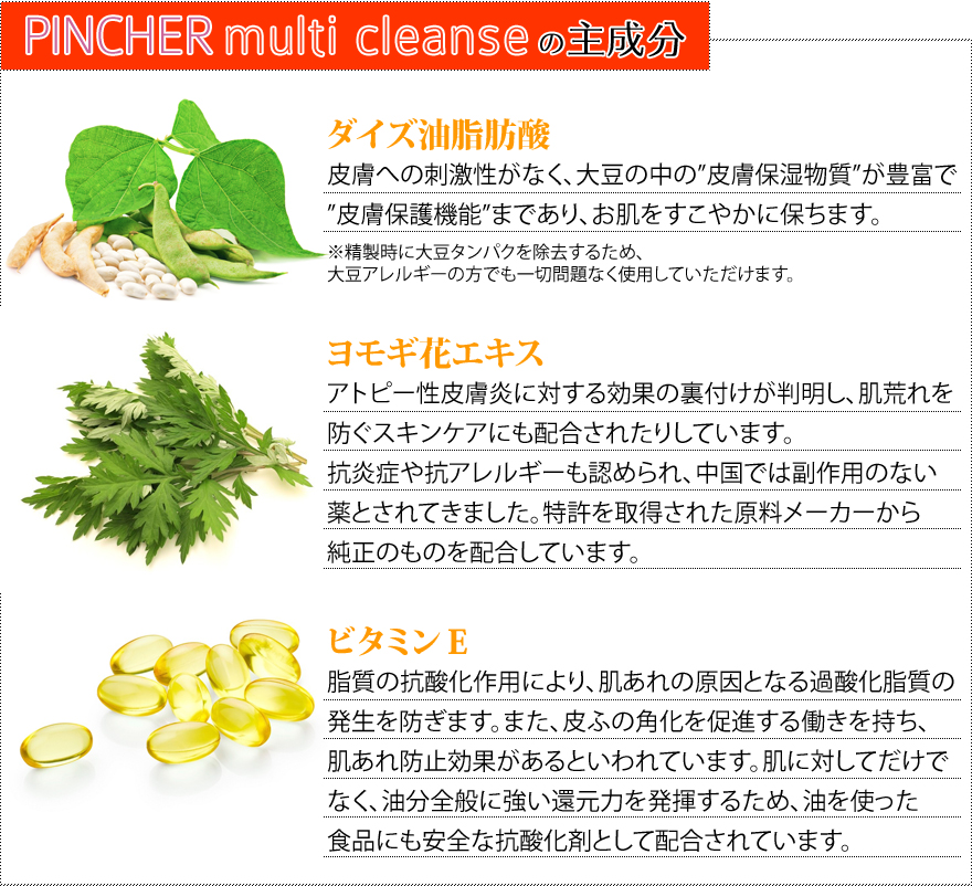 PINCHER multi cleanse